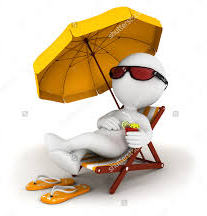 white-stick-figure-with-umbrella-and-lawn-chair