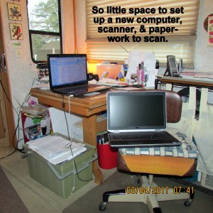 Small work area